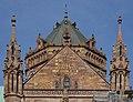 Cathédrale Notre-Dame - extérieur - cadran solaire (Strasbourg).jpg