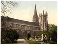 Cathedral from the North, Llandoff (i.e. Llandaff), Wales-LCCN2001703501.tif