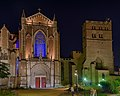 Cathedral of St Etienne at night - Toulouse, France - panoramio (1).jpg