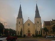 Catholic Church, Victoria, TX IMG 1012