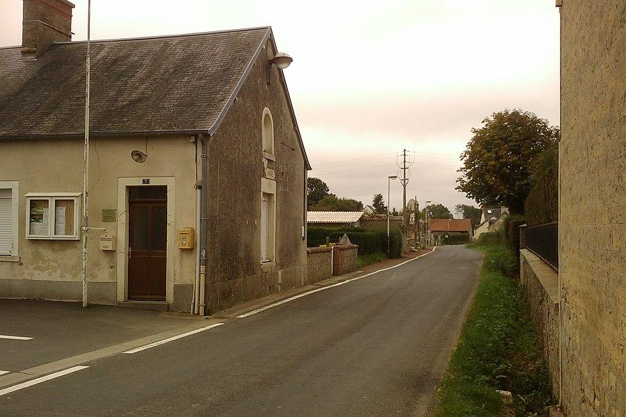 Mairie de fr:Catz sur la D89
