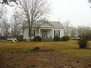 Cedar Crest (Faunsdale, Alabama) - Cedar Crest plantation house in 2008