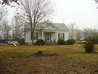 Cedar Crest (Faunsdale, Alabama) plantation on the National Register of Historic Places
