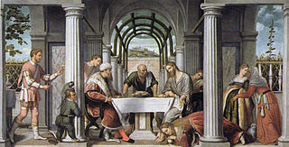 Dinner in the house of Simon the Pharisee
