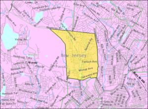 North Haledon, New Jersey - Image: Census Bureau map of North Haledon, New Jersey