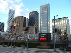 CenterPoint Energy - A CenterPoint Energy facility in Downtown Houston.