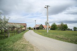 Center of Jedlina, Chýstovice, Pelhřimov District.jpg