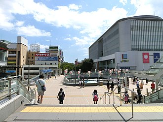 Iwaki, Fukushima - Looking south from Iwaki Station