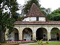 Château de Gaujacq - cour intérieur 3.JPG