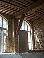 Château de l'Arthaudière intérieur de la remise.jpg