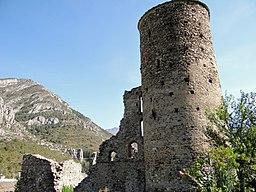 Château des Seigneurs de la Brigue -2