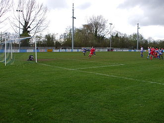 Thatcham Town F.C. - Game against Bracknell Town in 2008