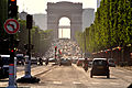Champs-Elysees to Arc de Triomphe, Paris 2012.jpg