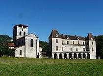 Chancelade église et logis abbé.JPG