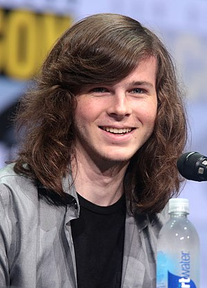 Carl Grimes - Chandler Riggs portrays Carl Grimes in the television adaptation