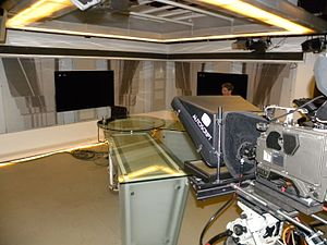 Channel 33 (Israel) - Studio of Channel 33