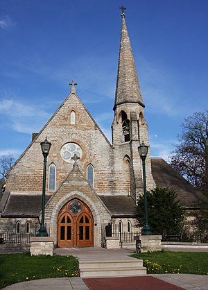 Shattuck-Saint Mary's - The Chapel of the Good Shepherd at the center of the campus