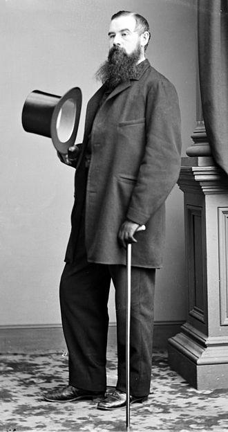 Charles Godfrey Leland - Image: Charles Godfrey Leland portrait