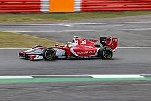 Leclerc guida per il team Prema Powerteam in Formula 2 nel 2017