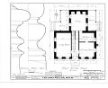 Charles Miller House, County Line Road, Menomonee Falls, Waukesha County, WI HABS WIS,67-MENFA.V,1- (sheet 1 of 6).png