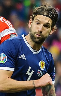 Charlie Mulgrew Scottish association football player