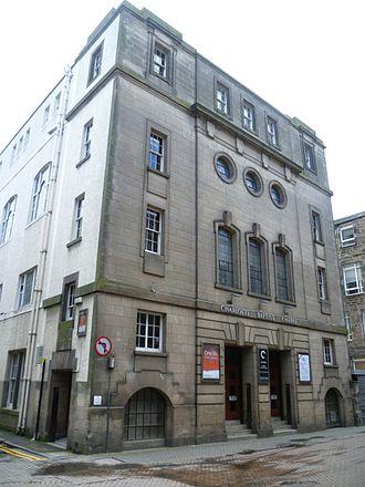 Christopher Anderson (theologian) - Charlotte Chapel, Edinburgh today