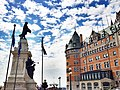 Chateau Frontenac at Quebec City, Canada - panoramio.jpg