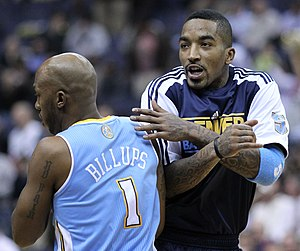 J. R. Smith - Smith with the Nuggets in January 2011