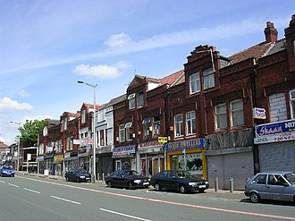 Cheetham, Manchester - Image: Cheetham Hill Road, Cheetham Hill, Manchester geograph.org.uk 10917