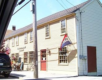 Chepachet, Rhode Island - Image: Chepachet general store