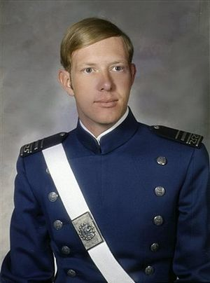 Chesley Sullenberger - Sullenberger's 1973 Air Force Academy senior class photo