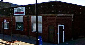 Chicago Lawn, Chicago - Chicago Islamic Center on West 63rd Street, founded by Arab-Americans in 1950s