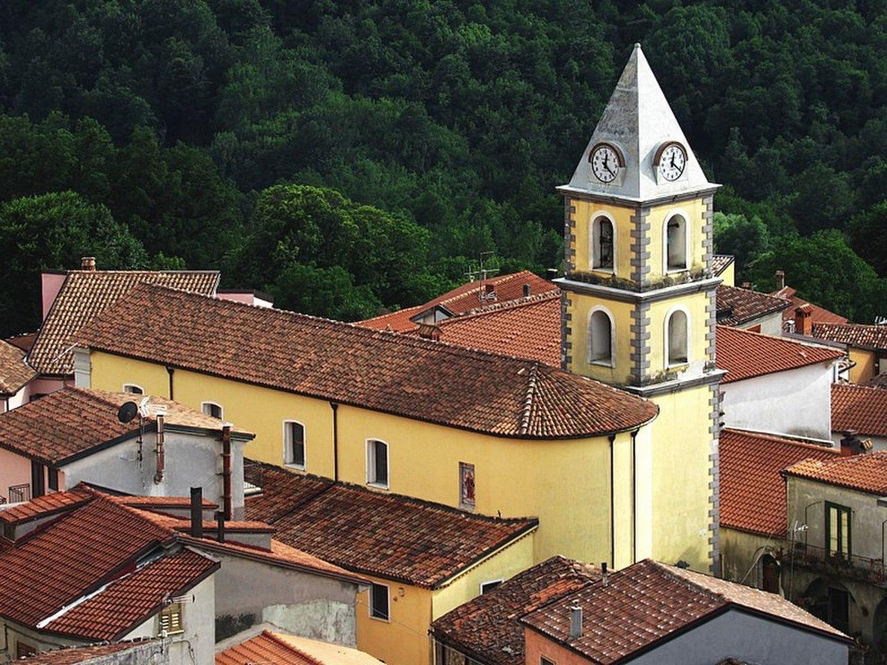 San Severino Lucano – Veduta