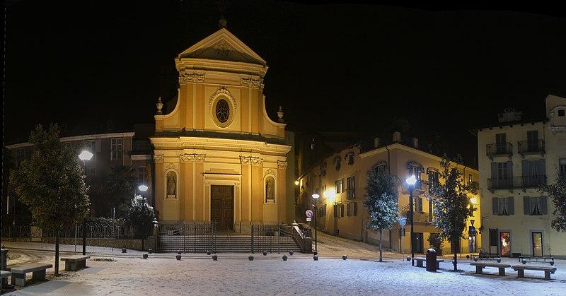 Igrejas nos arredores de Turim