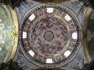 St. Nicholas Church (Malá Strana) -  Interior of the dome