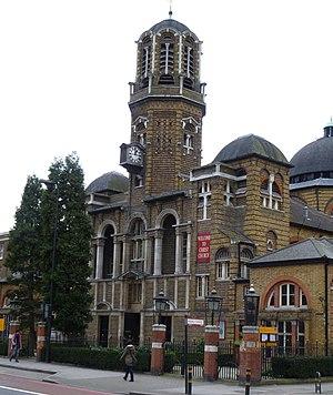 Christ Church, Brixton Road - Photo of the church