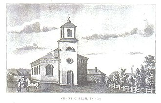 Christ Church (Cambridge, Massachusetts) - Christ Church in 1792.