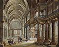 Christian Stöcklin Kircheninterieur 1780.jpg