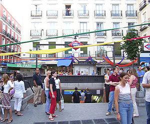 Chueca - Chueca subway station