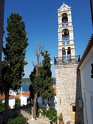 Church Skiathos Panagia Limnia