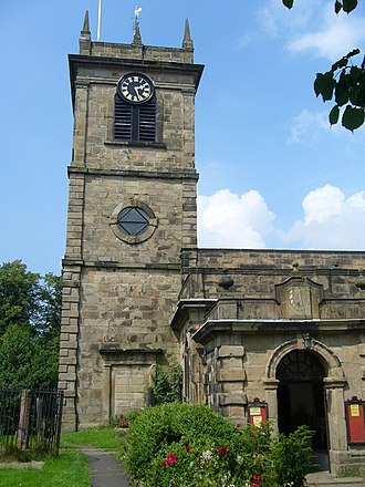 Chapel-en-le-Frith - Church of Thomas Becket
