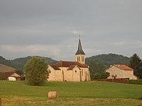 Church in Montels, Ariège, France.jpg