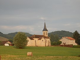 Church in Montels, Ariège, France.jpg