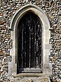 Church of St Mary Magdalen Laver Essex England - chancel south door.jpg