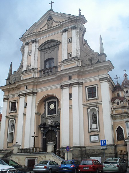 File:Church of the St Teresa in Vilnius1.JPG