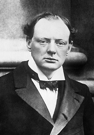 1908 Dundee by-election - Churchill in 1904.