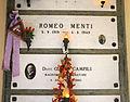 Cimitero dall'antella, tomba di romeo menti, calciatore del grande torino, morto a superga, 01.JPG