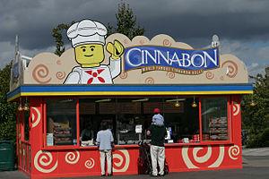 Cinnabon - Cinnabon at Legoland Windsor in the United Kingdom