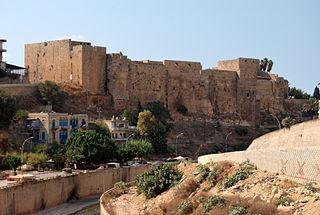 Citadel in Tripoli, Lebanon