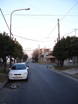 Street in North Ciudadela
